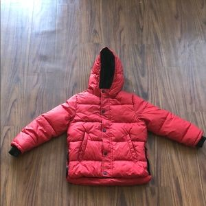 Zara Boys Basic Quilted Jacket w/Hood